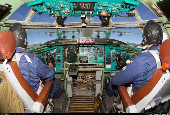 Дозаправка. Вид из кабины пилотов