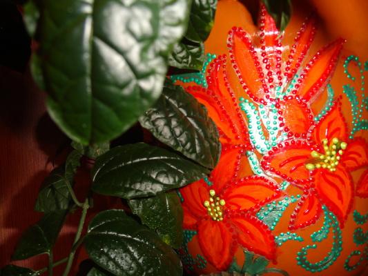 Цветочный горшочек-2