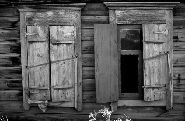 Покинутый дом..