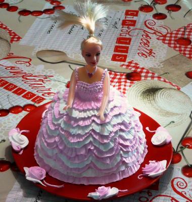 Торт кукла =)