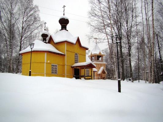 Церковь в Марциальных  водах.........