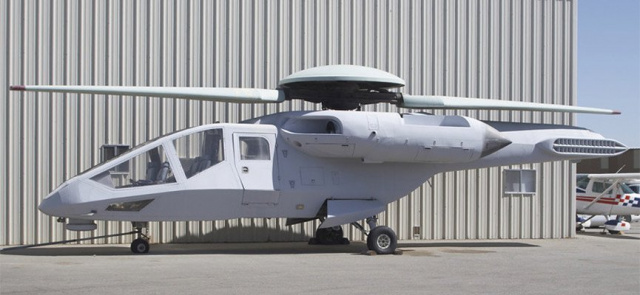 Cверхскоростной вертолет - самолет Ка-90