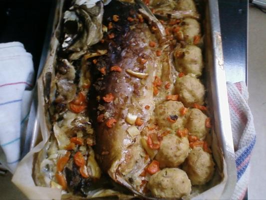 Фаршированная рыба