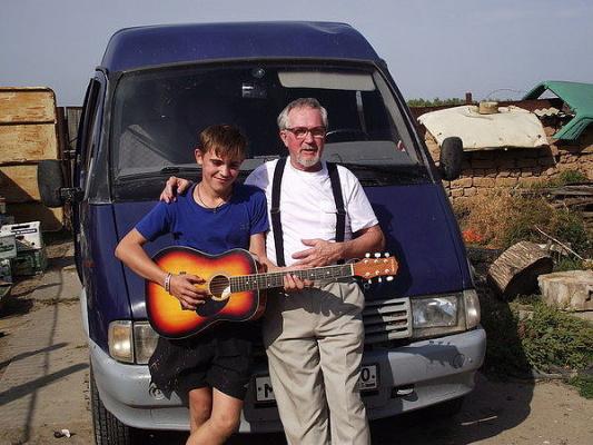 внук Костик и дед Вова