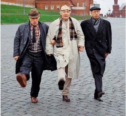 Михаил Ульянов, Вячеслав Тихонов и Олег Ефремов! Это целая ЭПОХА...
