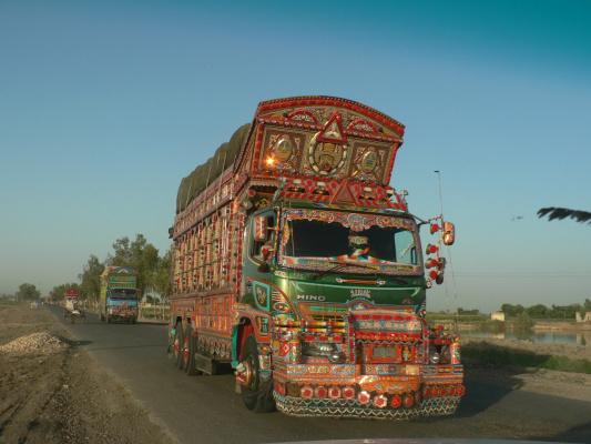 Пакистанские грузовики_2