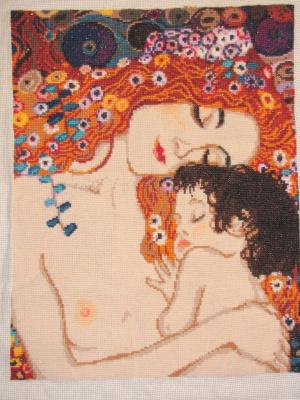 По мотивам произведения Густава Климта Три возраста женщины