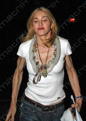 Смотрите, не перекачайтесь, как Мадонна!