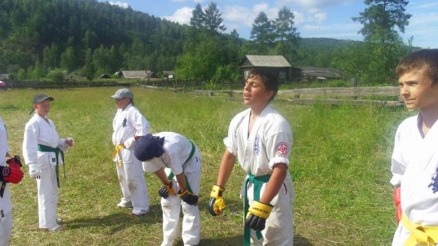 Летний спортивно-оздоровительный лагерь и дан-тест Кан-Оклер 12-26.07.2012