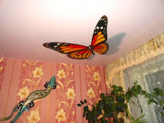 Бабочки на потолке - 1