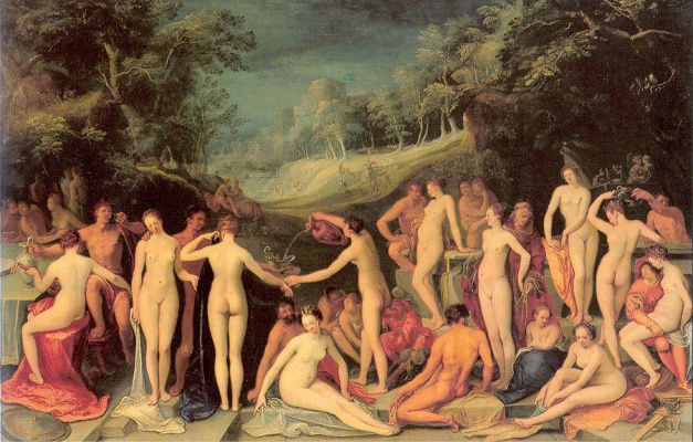К. ван Мандер Сад любви 1570