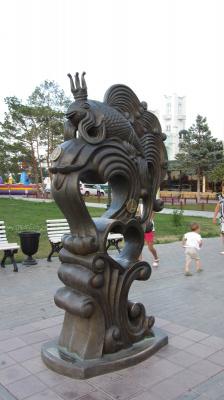 Астрахань. Золотая рыбка