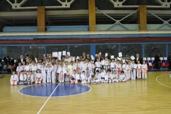 Товарищеская встреча  «открытое татами»  среди детей 6-7, 8-9, 10-11 лет.  8 .04.2012.
