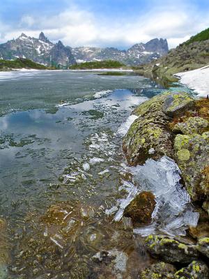 Ергаки. Озеро Горных Духов.