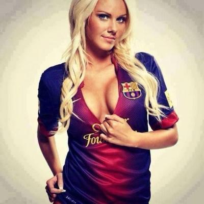 Сексуальные модели,фанатки футбола