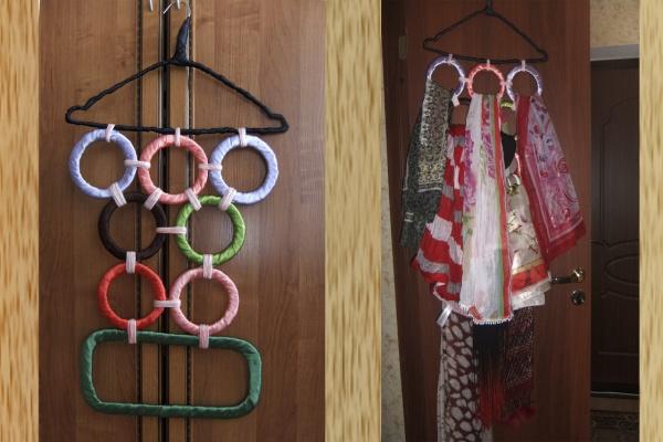 Вешалка для шарфиков