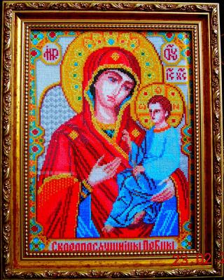 Иверская икона божьей матери схема вышивки 69