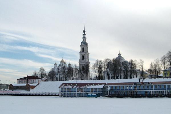 Кинешма зимой