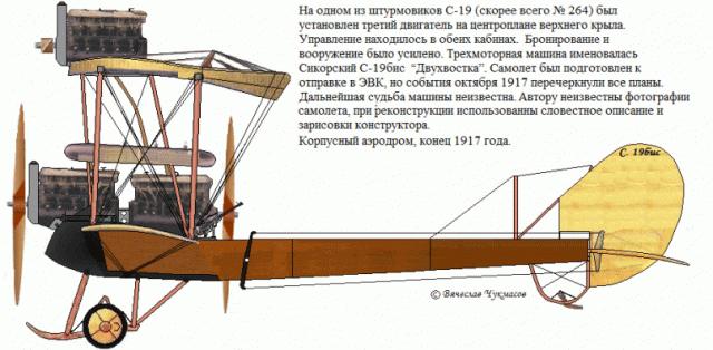 """С-19 """"Двухвостка"""""""