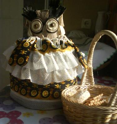 Сова,хранительница горячего чая.