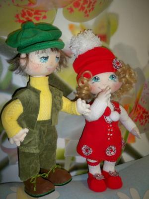 Мои текстильные куклы