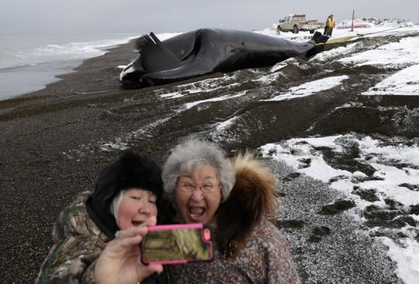 Селфи с Аляски
