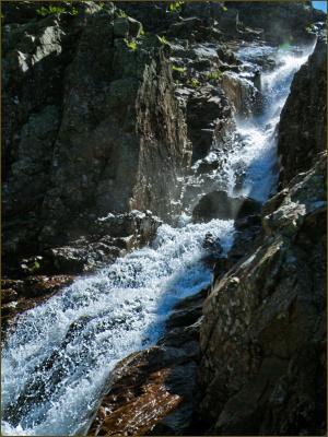У водопада Богатырь