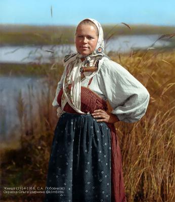 """""""Жница"""", 1914 год"""
