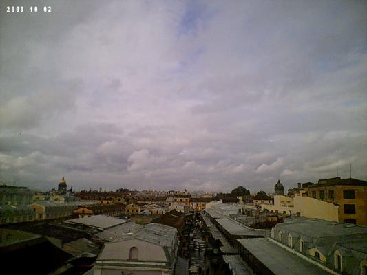 Питер, крыши