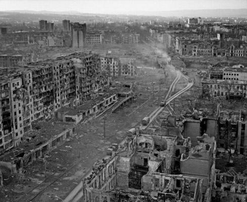 Город Грозный,Чечня 1999год.