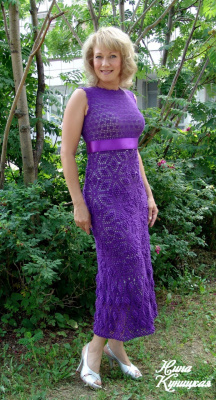 Платье по мотивам Ребекки Тэйлор.