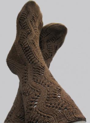Ажурные носочки