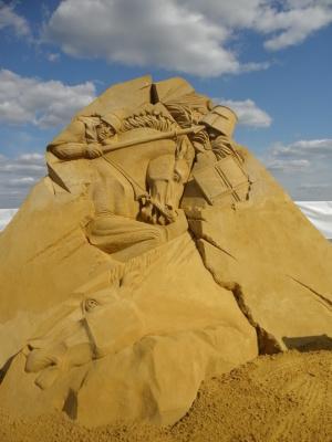 Скульптуры из песка 2