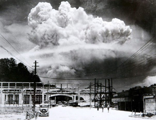 Атомная бомба в Нагасаки, 6 августа 1945 г