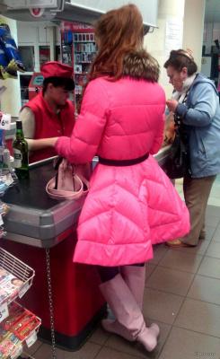 Еще одна красотка в розовом)))