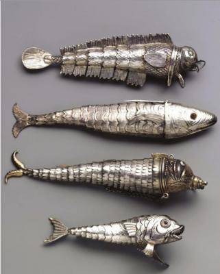 Серебряные блесны. 19 век