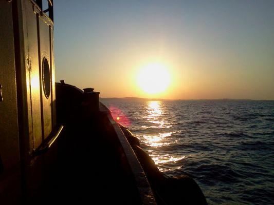 Восход,первые лучи!
