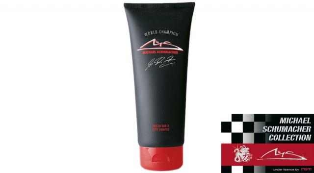 Михаэль Шумахер Чемпион мира Парфюмированный шампунь для волос и тела
