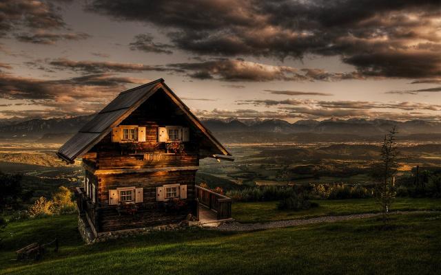 Идея дачного домика...
