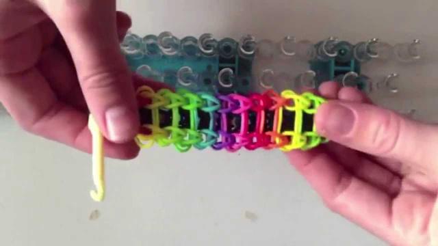Как сделать браслет лесенка без станка