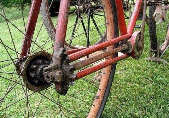 Велосипед без цепи