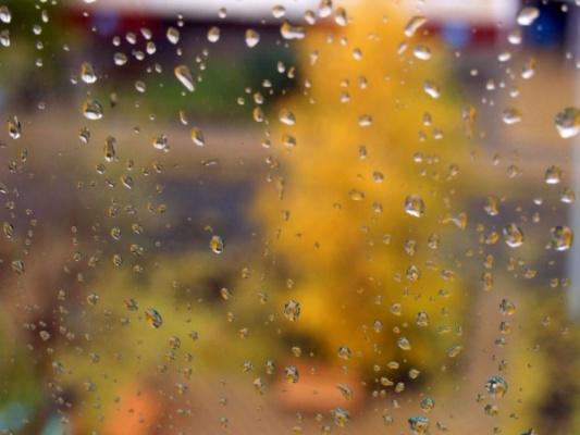 Осень стекло