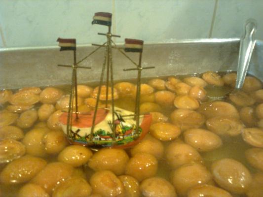 абрикосовое море