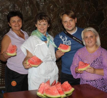 Горная арбуз с Ириной Непогодовой