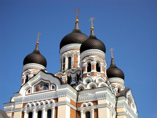Фрагмент собора Александра Невского. Таллинн