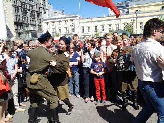 9 Мая 2014 г , Москва, Театральная площадь.