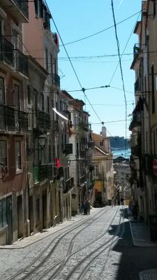 улочки Лиссабона