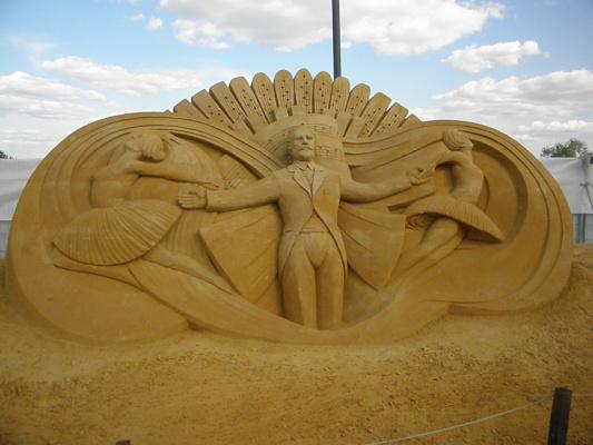 Скульптуры из песка 9