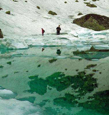 Лёд и отражения