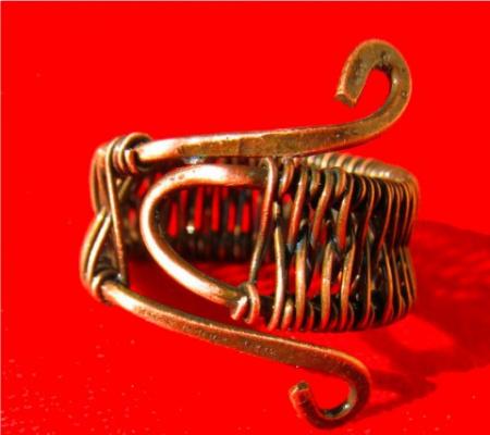 Украшения из медной проволоки-11 (Дизайн от Ирины)